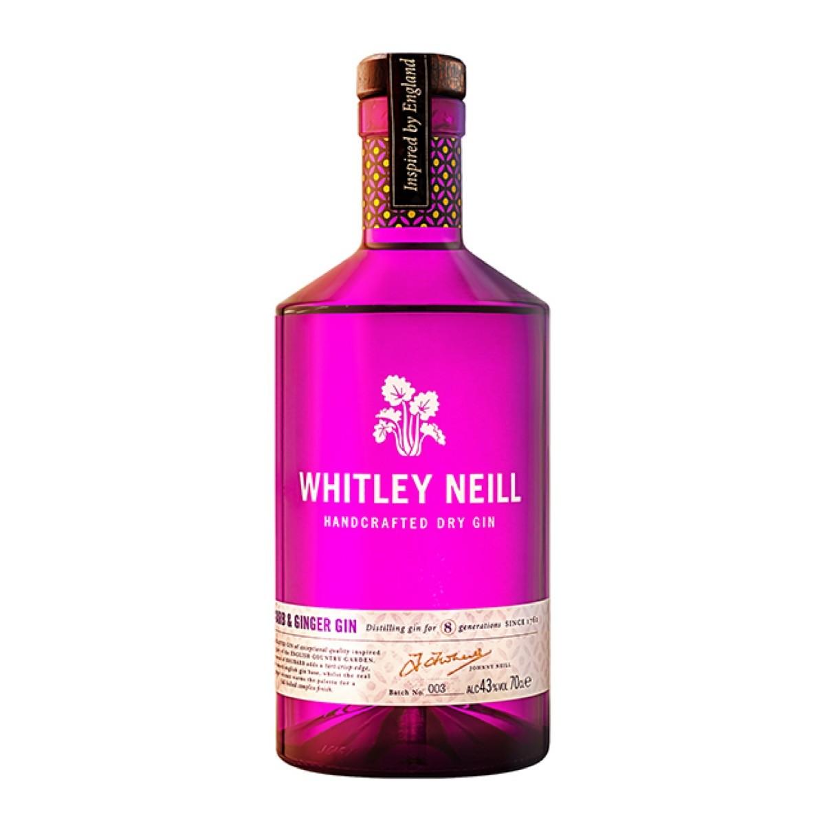 Whitley Neill Rhubarb&Ginger Gin 700 ml