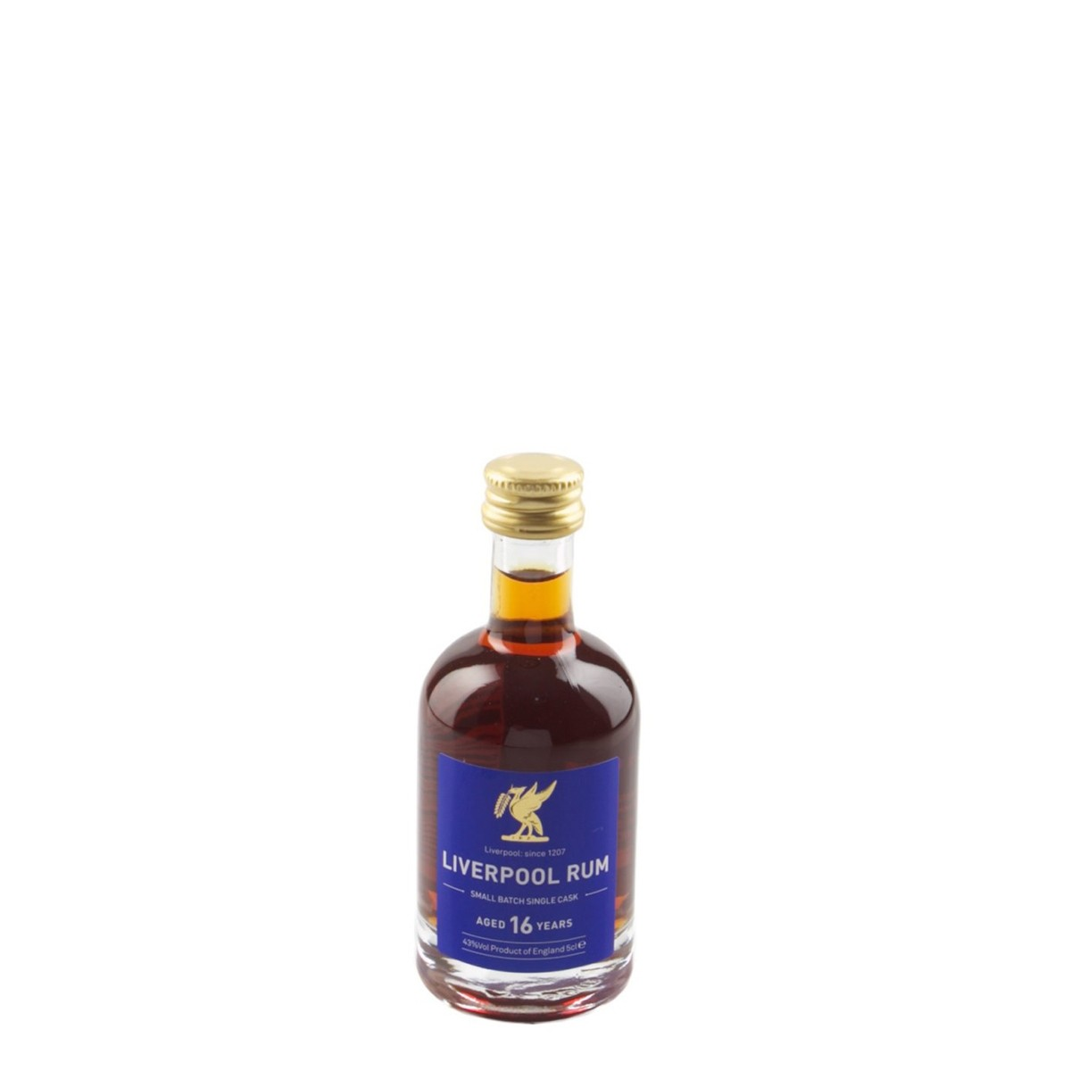 Liverpool Rum 16 ani 50 ml