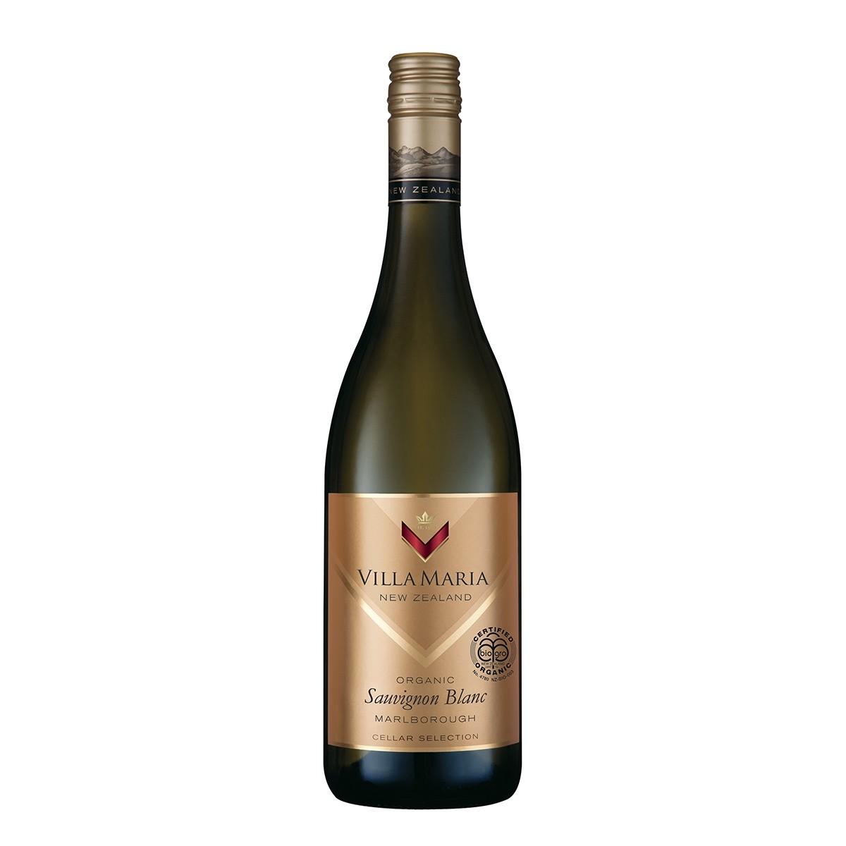 Villa Maria Cellar Selection Sauvignon Blanc Organic 2018
