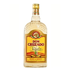 Don Cruzado Gold Tequila